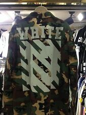 OFF-WHITE C/O VIRGIL ABLOH FIELD JACKET (CAMOUFLAGE) camo military jacket