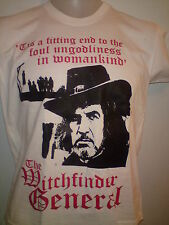 THE WITCHFINDER GENERAL TSHIRT poster dvd Vincent Price horror book  ALL SIZES