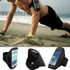 Samsung CASE FOR Running Sports Gym Jogging Cover Armband Galaxy S5 w/ Key Pouch