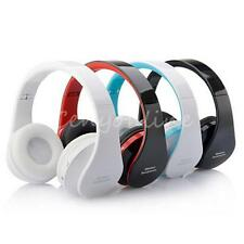 Foldable Wireless Stereo Bluetooth Headset Handsfree Headphones W/Mic For iPhone