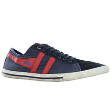 Mens Gola Sport Quota Navy Red Trainers CMA550ER2