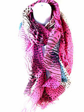 WHOLESALE JOB LOT BEAUTIFUL EX HIGH STREET SCARVES NEW CARDED PIECES