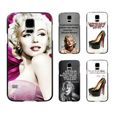 Sexy Marilyn Monroe With Right Shoes Style Hard Case For Samsung Galaxy S5 i9600