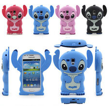 Cute 3D Soft Silicone Rubber Cover For Samsung Galaxy Trend Plus / S7580 / S7582