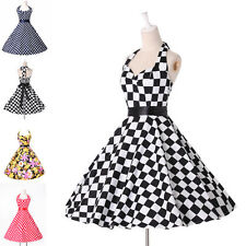 ❤2014 NEW Style ❤ Housewife Vintage Retro 50s Swing Party Pinup Rockabilly Dress