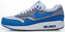 Nike Air Max 1 Essential grey & white & blue trainers 537383 040