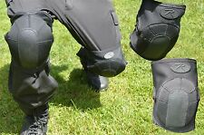 Knee Pads Elbow Pad Neoprene Black Tactical SWAT Shooting AirSoft Paintball New