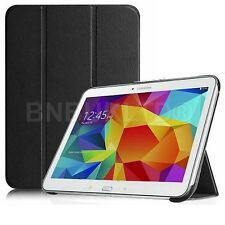 BLACK ULTRA THIN smart book Leather Case Cover for Various Samsung Galaxy tablet