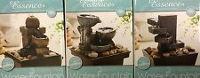 Water Fountain - Stone Effect/Slate-Feng Shui/Home/Table/Desk Top Feature Indoor