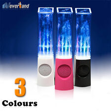 LED Dancing Water Show Music Fountain Light Speakers for Computer Laptop New