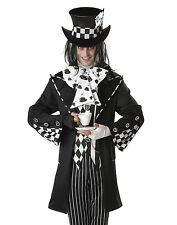Dark Mad Hatter Adult Mens Outfit Halloween Costume