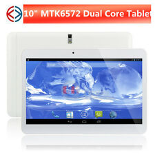 10 inch MTK6572 3G phone calling tablet pc 1GB 8GB GPS WIFI Bluetooth phablet