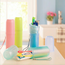 4 Colors Toothbrush Holder Tooth Mug Toothpaste Cup Bath Travel Accessories