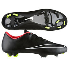NIKE MERCURIAL VICTORY V FG FIRM GROUND SOCCER CR7 SHOE FOOTBALL Black/H Punch