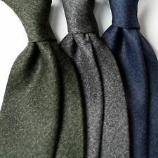New Men's Difou Cotton blend Ties in Solid