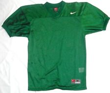 College Authentic Blank Football Jersey Youth All Green