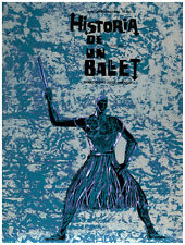 7752.Historia de un ballet.documentary.warrior on fire.POSTER.art wall decor