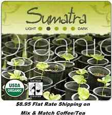 Natural Organic Sumatra 'Gayo Mountain' Fair-Trade Coffee - Flat Rate Shipping