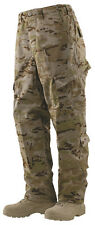 Tru-Spec Multicam Arid 10 pocket Tactical Response Uniform pants 50/50 NYCO Rip