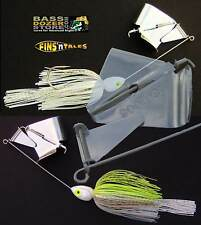 MONSTER Buzzbaits. 3/4 oz. Twisted Wire. 6/0. Free Trailer Hook FREE Twin Tails