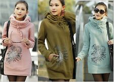 2014 new fashion autumn winter long sleeve Thickening coat for pregnant women
