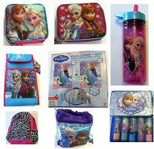 Disney Frozen Insulated Lunch Bag Water Bottle Princess Anna & Elsa Girls School