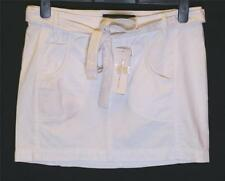 Bnwt Womens French Connection Skirt + Belt Fcuk RRP£45 New White