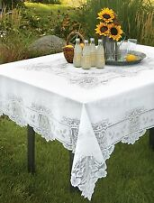 Heritage Lace Heirloom Table Cloth, 2 Colors 4 Sizes, 1 or Set, Country Chic NWT