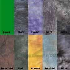 10 Colors 6x9Ft Screen Muslin Backdrop Background for Photography Studio Light