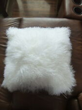 Tibetan Lamb Pillow Covers Assorted Colors 16 x 16 **SALE** Think Spring!!