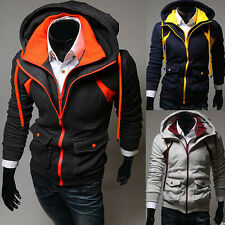 Fashion Autumn Winter Wild Slim Casual Hoodie sweater Collar Zipper Sweatshirt