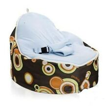 PROMOTION Multicolor Baby Bean Bag Snuggle Bed Portable Bean Seat Nursery Rocker