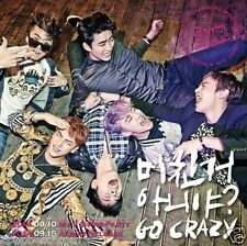 2PM - Go Crazy (4th Album) Comeback CD + Poster Booklet 52p Gift Photo Sealed