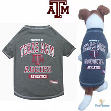 NCAA Pet Fan Gear TEXAS A&M AGGIES Dog Shirt for Dogs BIG SIZE XS-XL