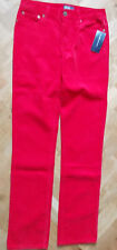 BNWT POLO RALPH LAUREN LUXURY BOYS SLIM RED CORDS CORDUROY JEANS 10 14 YEARS
