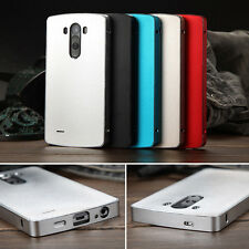 Deluxe 100% Genuine Aluminum Case Frame+Plate Metallic Cover For LG G3 Phones