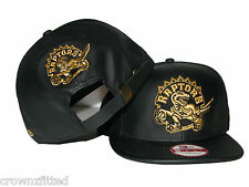 New Era Toronto Raptors Strapback 9FIFTY NBA Leather Exclusive