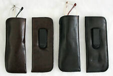 Eyeglass Case Half-Eye with Clip for Reading Glasses or Small Frames NEW