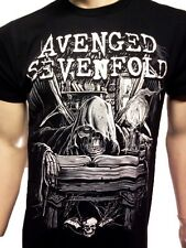 AVENGED SEVENFOLD T-SHIRT NEW BAND TEE FREE SHIPPING ROCK BAND TEES SM-2X