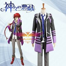 Kamigami no asobi Thor Brother Loki Laevatein Cosplay Custome Just Coat and Vest