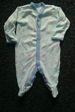 BOYS ~ MATALAN ~ SLEEPSUIT ~ SIZE 0-3 MONTHS ~ VGC ~ FREE POST BOX A002