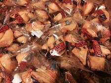Golden Bowl Fortune Cookies Individually Wrapped  12-25-50-100-400pcs