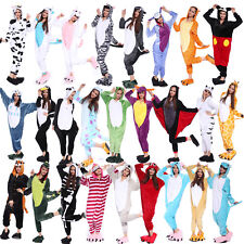 Multi-Style Adult Unisex Onesie Kigurumi Pajamas Cosplay Fancy Dress Costume