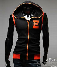 Men's Top Fashion Eagle Patterns Embroidered Sleeveless Sweats Hoodies Jackets