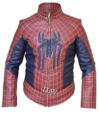 Spider Man 2 PETER PARKER Leather Jacket , ANDREW GARFIELD Leather Jacket