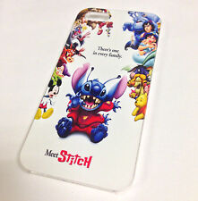 All Disney Characters Stitch Funny cartoon Movie IPhone 4 / 4s Hard Case Cover