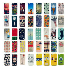 HOT Painted Various Pattern Hard Plastic Back Case Cover for iPhone 4 4S 5 5S 5C
