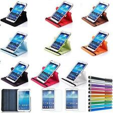 Leather Case Cover For Samsung Galaxy Tab 3 8.0 tablet SM-T310 T311-360 Rotating