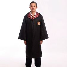 Nice Harry Potter Costume Gryffindor Adult Cloak Robe Cape Christmas Party Gift