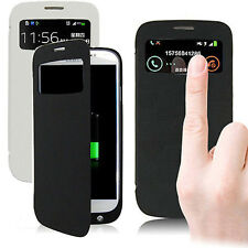 Portable Backup Battery Charger Power Bank Flip Case for Samsung Galaxy S4 i9500